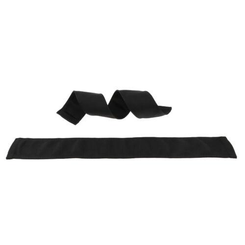 2 Pcs Hammock Strap Cover Webbing Belt Rope Protector Sleeve Sheathing 40cm