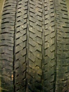 Dueler H L Alenza Plus >> ONE USED Bridgestone Dueler H/T 245/65R17 Tire with 7/32nds tread ONE USED TIRE | eBay