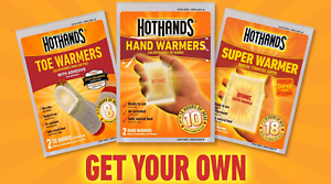 Heatmax-HotHands-Hot-Hand-Warmers-Toe-Warmers-Body-Hand-Super-Warmers-Packs-Lot