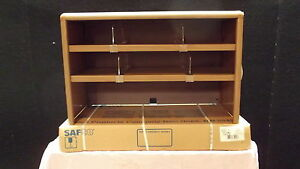 "SAFCO MODEL 3522MO 29""VALUE MATE STEEL DOULBLE-SHELF DESKTOP TOPPER UNIT"