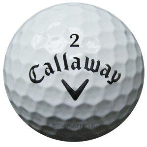50-Callaway-Supersoft-balles-de-golf-dans-sac-en-filet-AA-AAAA-Lakeballs-Soft