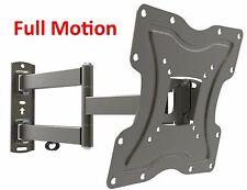 Full Motion TV Wall Mount Articulating Bracket 24 32 37 39 40 LED LCD FlatScreen