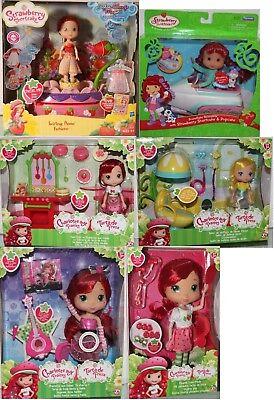 #02 Strawberry Shortcake-emily Fragola-scegliere A: Riproduzione Con Bambola/pupazzo-y Erdbeer-aussuchen: Spielset Mit Puppe / Puppe It-it Mostra Il Titolo Originale