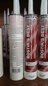Bostik- Best Cartridge 10.1 Oz- Lot of 5 Cartridges
