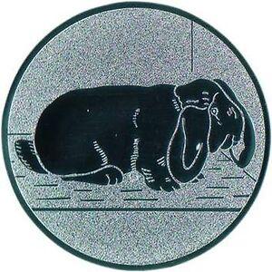100 Widder Kaninchen Embleme gold 25mm Medaillen für Medaillen Pokale Pokal Widder Hase
