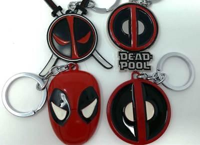 Deadpool Logo-Llavero de aleación de metal-Diseño De Alta Calidad MARVEL