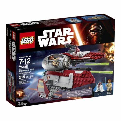 Lego 75135 Star Wars Obi-Wan/'s Jedi Interceptor