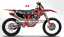 Motocross-Graphics-Custom-Decal-Kit-for-SX-SXF-XC-XC-F-2016-2017-2018-MX-Sticker thumbnail 5