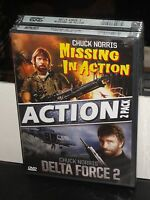 Missing In Action / Delta Force 2 (dvd) Chuck Norris, Lee Marvin, Brand