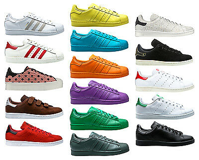 ADIDAS Superstar SUPERCOLOR Pack 80s DLX STAN SMITH Scarpe Sneaker | eBay