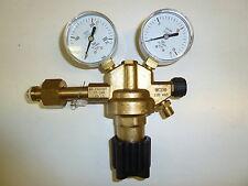 Druckminderer Sauerstoff, einstufig, Hinterdruck regelbar (16 / 0-10 bar)
