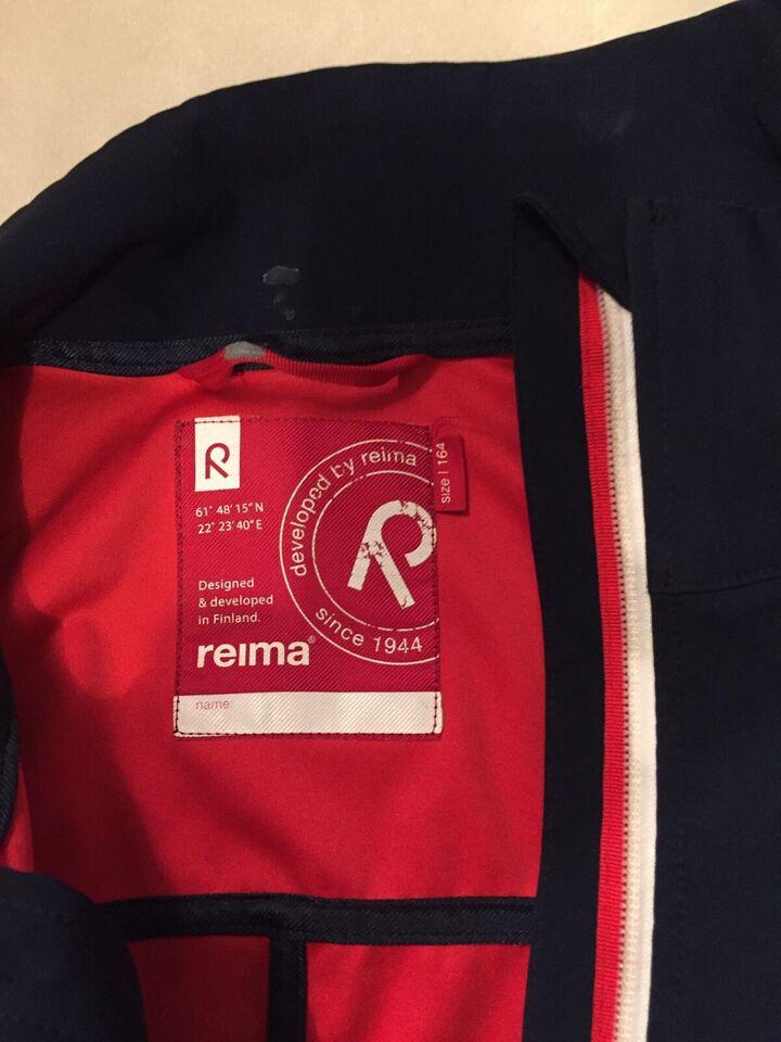Jakke, Reima Tec soft shell regntæt jakke, Reima
