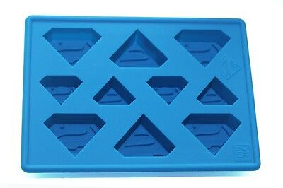 Superman Super Hero Ice Tray Ice Cubes DIY Mould Pudding Jelly Mold Silicone