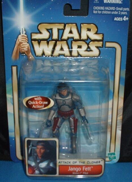 Jango Fett Bounty Hunter Star Wars Toy Action Figure Attack of the Clones 2002