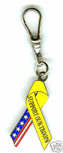 ZipperPull-034-Support-Our-Troops-034-yellow-and-flag
