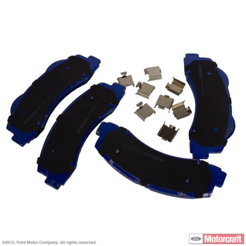 Integrally Molded Front MOTORCRAFT Disc Brake Pad Set-Pads Superduty