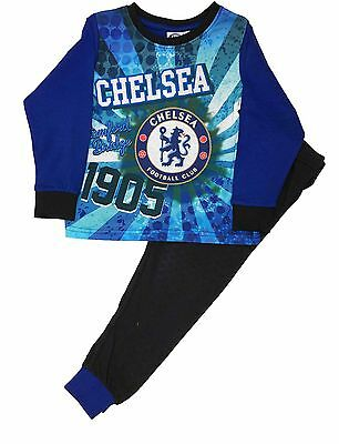 BRAND NEW BOYS OFFICIAL CHELSEA F.C SHORT PYJAMAS AGES 3-4 up to 11-12 YEARS