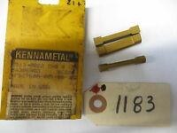 3 Kennametal Carbide Inserts 2513-0222 Chg Kc850 Lot1250