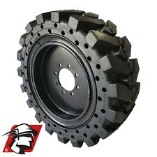 12x165 Maximizer Gt Tire Solid Skid Steer Tire 4 Tireswheels Mustang 12 165