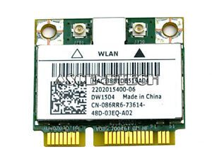 DELL-DW1504-BROADCOM-BCM94313HMG2L-MINI-PCI-EXPRESS-WLAN-LAPTOP-WIFI-CARD-86RR6
