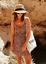 Topshop-Ditsy-Floral-Print-Dress-Sundress-Orange-UK-6-8-14-16-BNWT thumbnail 1