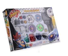 Beyblade Top Set Spinning Metal Fusion Fight Master 4D Launcher Toy Gift UK SELL