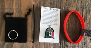 MEXICO FLAG GREMLIN BELL COMPLETE KIT WITH WRISTBAND