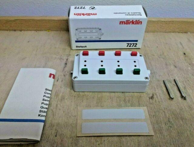 Märklin H0 7272 Blanco Panel para Artículos Magnéticos sin Retroalimentación Neu
