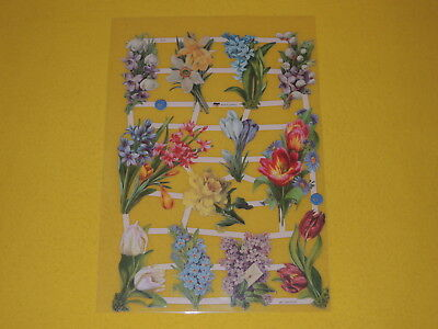 Papier & Dokumente Methodisch 1x Poesiebilder Oblaten Frühlingsblumen 413 Glanzbilder Tulpen Flieder Blumen N SchöN Und Charmant Büro, Papier & Schreiben