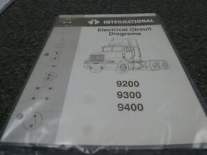 1993 International 9200 9300 9400 9900 Truck Electrical ...