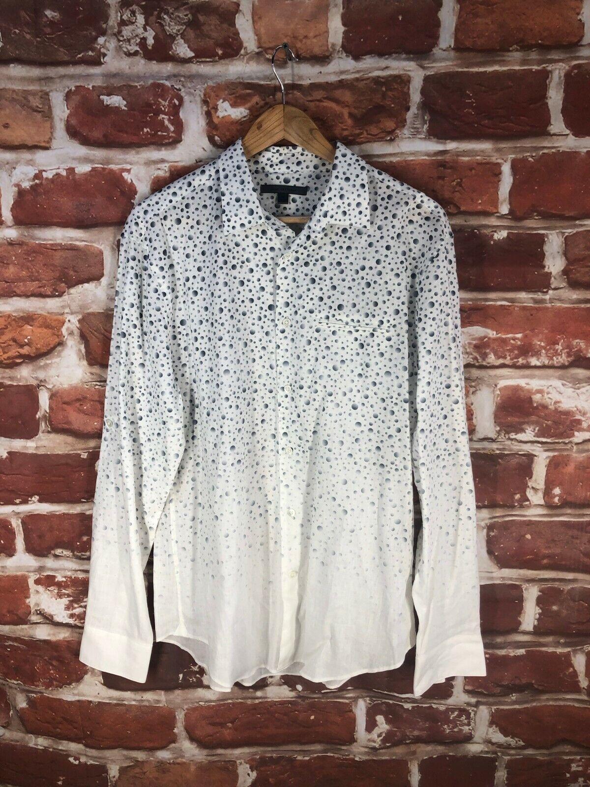 John Varvatos Collection 15 M Designer Label Work New York Dress Shirt
