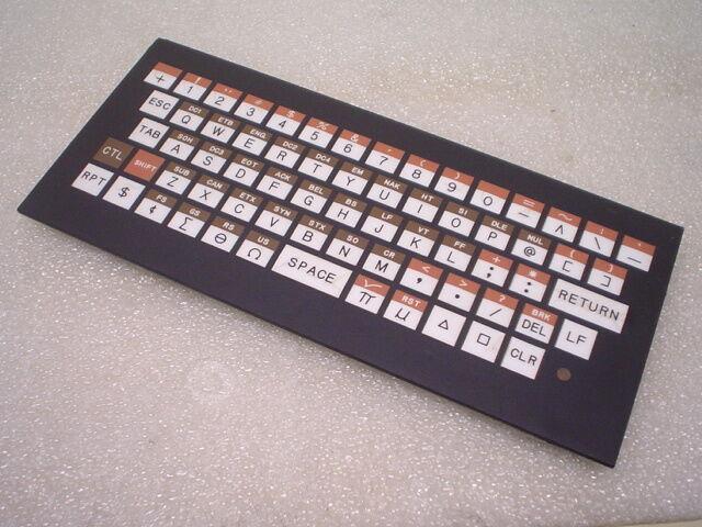 TEC Incorporated 272977 Rev. E K-20278A Operator Panel Circuit Board Keyboard