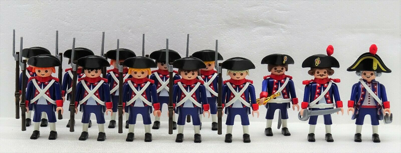 13 Français soldats playmobil à  Garde Super Set 3-Napoléon Sangle croisée RAR  magasin vente sortie