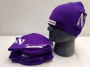 951f2319a Lot Of 8 NORTHWESTERN Football Helmet Beanie Hat Skin Winter Hat ...