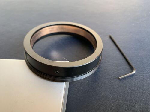 Adaptador de Rosca 52.5mm a M65x1 con círculo de proyección Slim