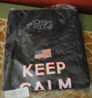 Authentic July 4th America Keep Calm Shirt From Thechivery Kcco Mens Xl
