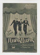 MUSIK MUSIK! (IFB 18) - BING CROSBY / FRED ASTAIRE / MARJORIE REYNOLDS / V. DALE