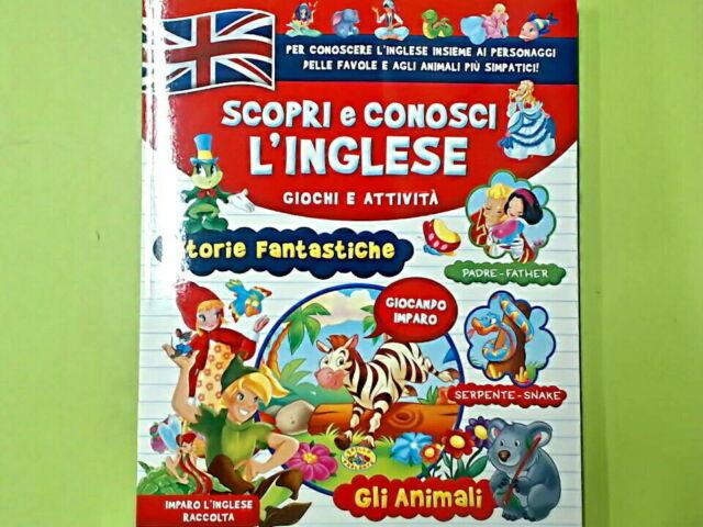 SCOPRI E CONOSCI L'INGLESE GLI ANIMALI GIOCHI E ATTIVITA' RUSCONI