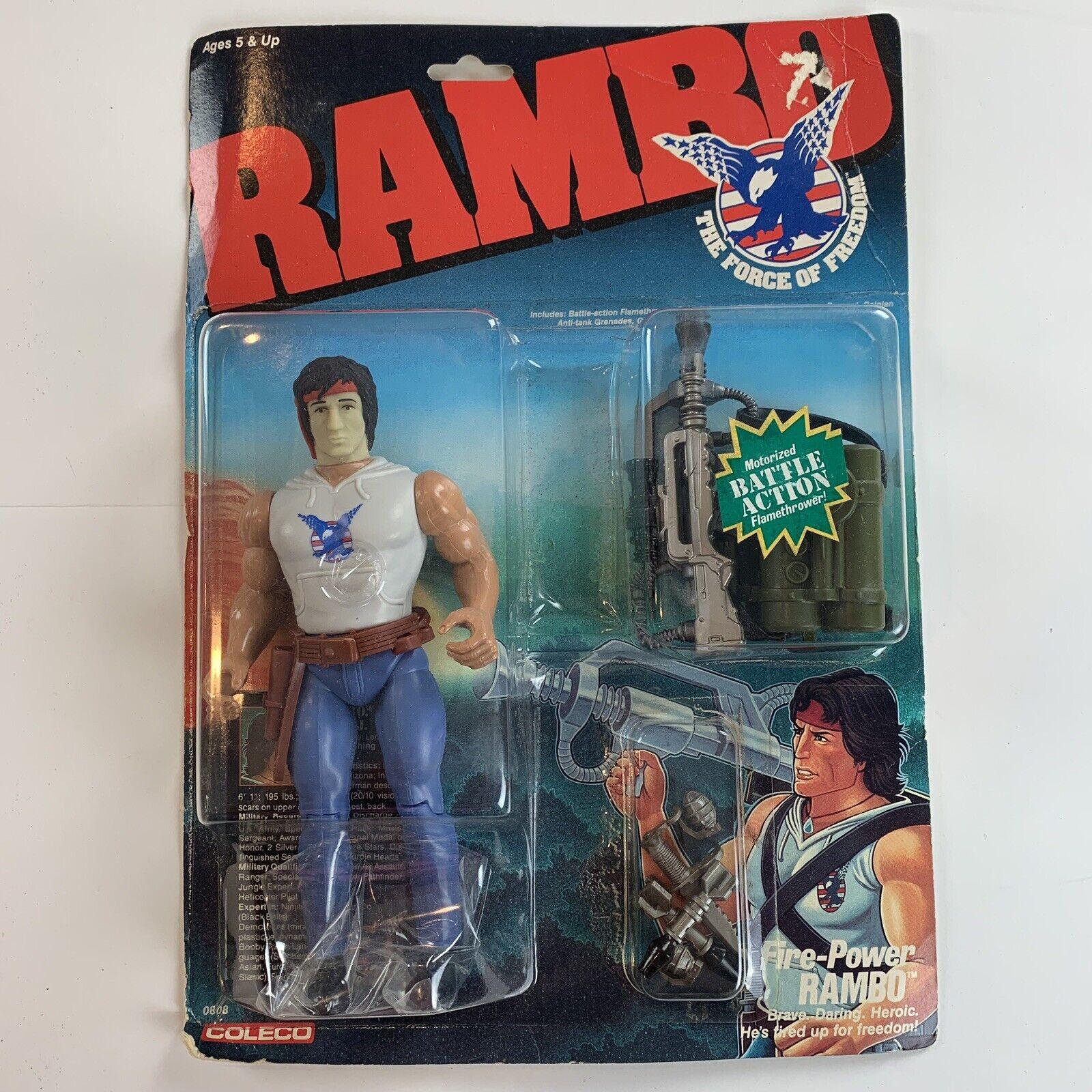 RAMBO The Force of gratuitodom Fire-energia Rambo cifra nuovo  UNOPENED scatola  punti vendita