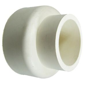 White-Rubber-Pan-Cone-Toilet-Flush-Pipe-Seal-50mm