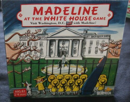 BRAND NEW SEALED BRIARPATCH MADELINE AT THE WHITE HOUSE BOARD GAME