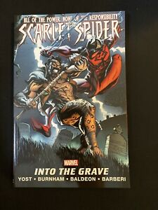 Scarlet-Spider-Volume-4-The-Big-Leagues-Marvel-TPB-BRAND-NEW-RARE-OOP-Spider-Man