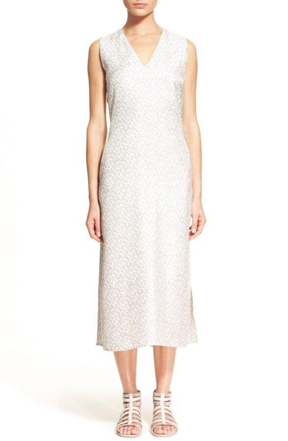 nyA Fabiana Filippina Print Silk Midi Dress - elfenben XXXS  895 \35;DD40