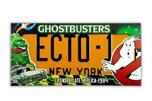 Ghostbusters-Replik-1-1-ECTO-1-Nummernschild-Doctor-Collector