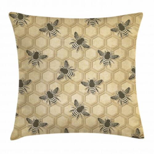 Biene Kissenbezug Umweltfreundliche Bienenzucht Schmutz Resistent