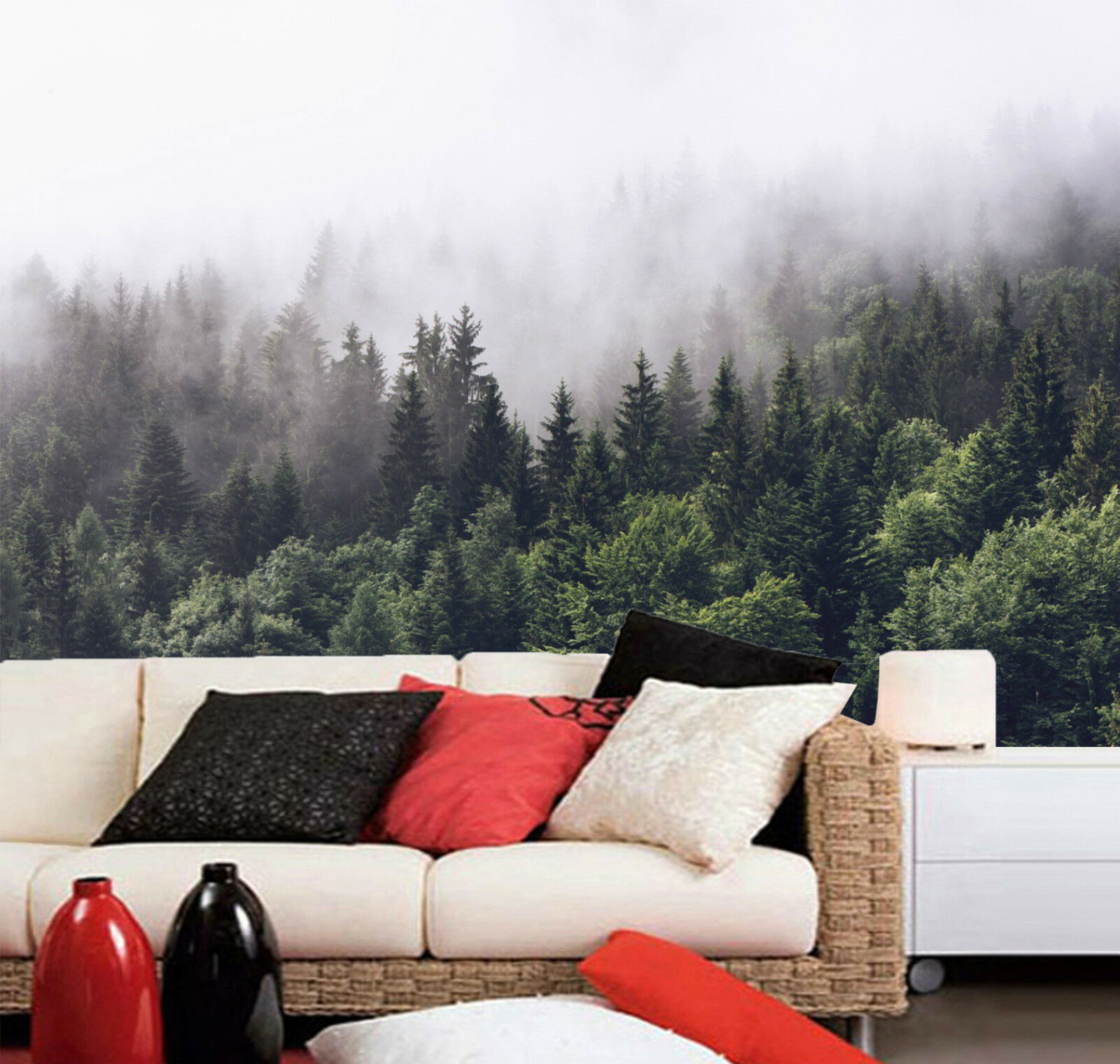 3D Der Nebel 0485 Fototapeten Wandbild Fototapete Bild Tapete Familie Kinder DE