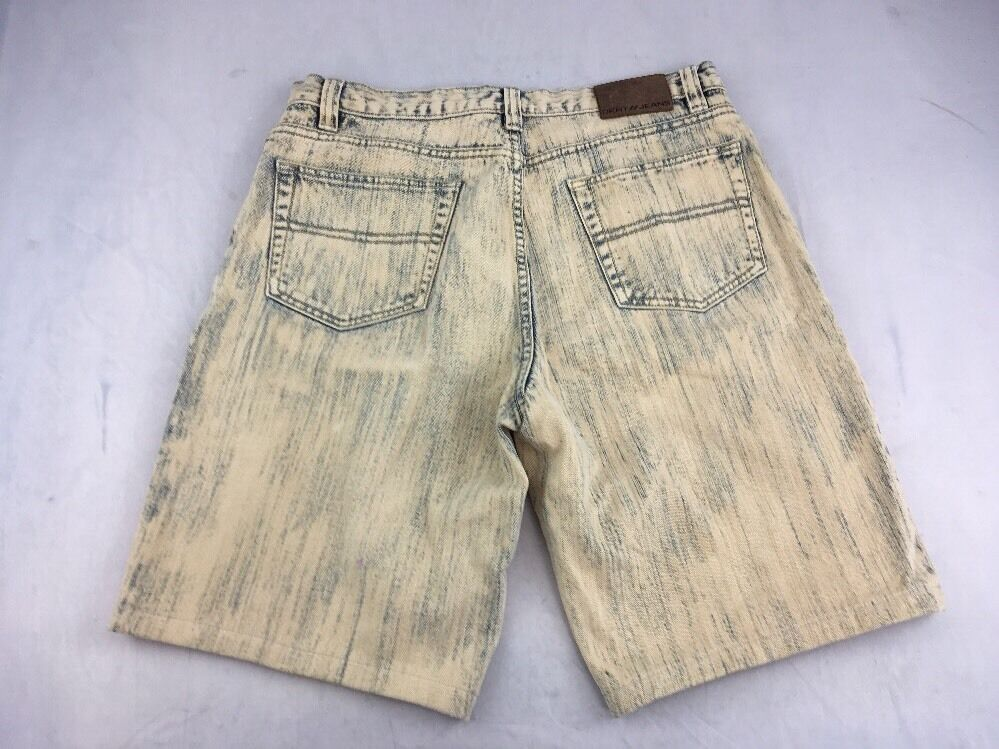 EUC Vintage DKNY JEANS WESTSIDE color washed jeans mens 34 Yellow Denim Acid