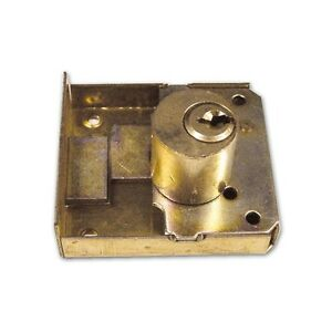 Serratura da Incastrare Dorso Ottonato Meroni Art 16/C Mis. 30 mm Cilindro 20 mm