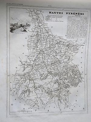 c11-11 42 Loire gravure carte géographique Monin 1835