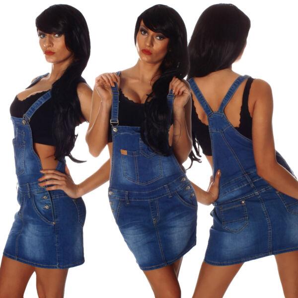 100% De Calidad 10693 Vaqueros Señora Rock Latzrock Mini Falda Promotores Jeans Denim Streetwear-ver Buena ConservacióN Del Calor